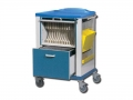 Combo Trolley - record + X-ray film holder